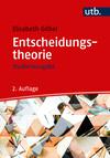 Vergrößerte Darstellung Cover: Entscheidungstheorie. Externe Website (neues Fenster)