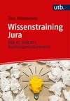 Vergrößerte Darstellung Cover: Wissenstraining Jura. Externe Website (neues Fenster)