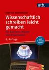 Vergrößerte Darstellung Cover: Wissenschaftlich schreiben leicht gemacht. Externe Website (neues Fenster)