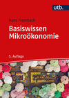Vergrößerte Darstellung Cover: Basiswissen Mikroökonomie. Externe Website (neues Fenster)