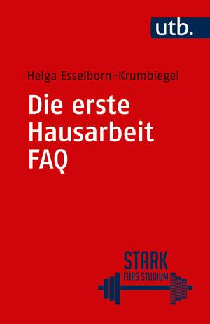 Die erste Hausarbeit - FAQ