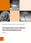 Vergrößerte Darstellung Cover: Historisches Wörterbuch des Mediengebrauchs. Externe Website (neues Fenster)