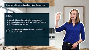 Produktiv arbeiten im Homeoffice - So klappts im Team - Moderation virtueller Konferenzen