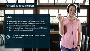 Produktiv arbeiten im Homeoffice - So klappts im Team - Virtuell kommunizieren