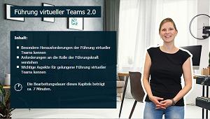 Produktiv arbeiten im Homeoffice - So klappts im Team - Führung virtueller Teams 2.0