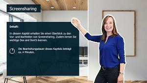 Produktiv arbeiten im Homeoffice - So klappts im Team - Screensharing