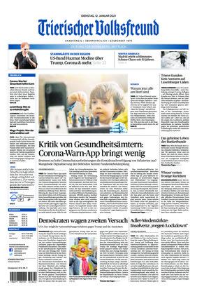 Trierischer Volksfreund - Zeitung für Bernkastel-Wittlich (12.01.2021)