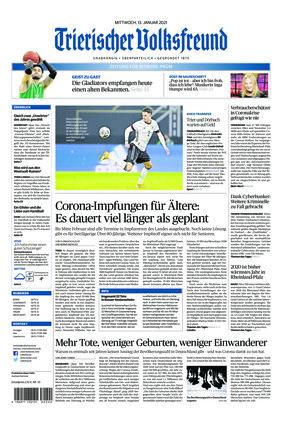 Trierischer Volksfreund - Zeitung für Bitburg-Prüm (13.01.2021)