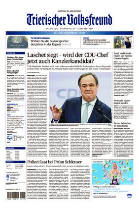 Trierischer Volksfreund - Zeitung für Bitburg-Prüm (18.01.2021)