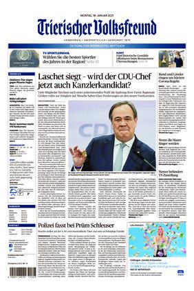 Trierischer Volksfreund - Zeitung für Bernkastel-Wittlich (18.01.2021)
