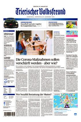 Trierischer Volksfreund - Zeitung für Bernkastel-Wittlich (19.01.2021)