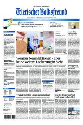 Trierischer Volksfreund - Zeitung für die Vulkaneifel (17.02.2021)