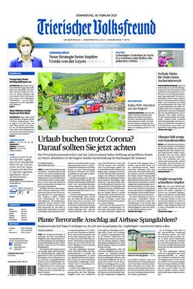 Trierischer Volksfreund - Zeitung für die Vulkaneifel (18.02.2021)