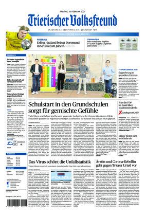 Trierischer Volksfreund - Zeitung für die Vulkaneifel (19.02.2021)