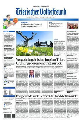 Trierischer Volksfreund - Zeitung für die Vulkaneifel (20.02.2021)