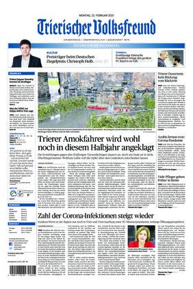 Trierischer Volksfreund - Zeitung für die Vulkaneifel (22.02.2021)