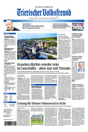 Trierischer Volksfreund - Zeitung für die Vulkaneifel (24.02.2021)