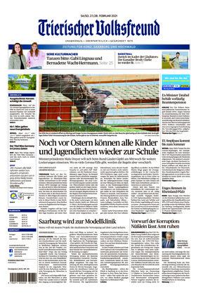 Trierischer Volksfreund - Zeitung für Konz, Saarburg und den Hochwald (27.02.2021)