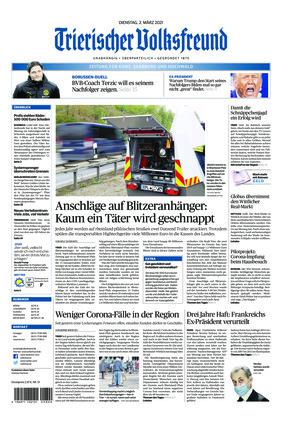 Trierischer Volksfreund - Zeitung für Konz, Saarburg und den Hochwald (02.03.2021)