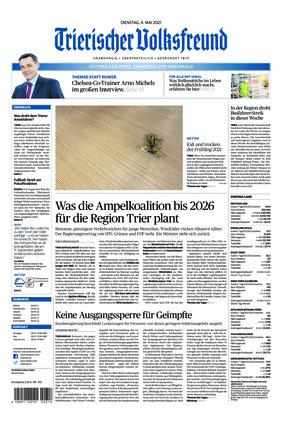 Trierischer Volksfreund - Zeitung für Konz, Saarburg und den Hochwald (04.05.2021)