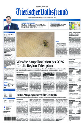 Trierischer Volksfreund - Zeitung für Trier und das Trierer Land (04.05.2021)