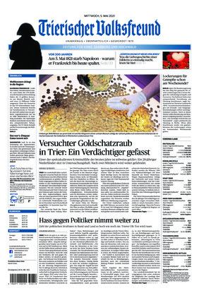 Trierischer Volksfreund - Zeitung für Konz, Saarburg und den Hochwald (05.05.2021)