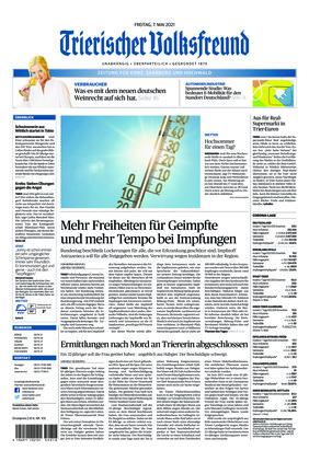 Trierischer Volksfreund - Zeitung für Konz, Saarburg und den Hochwald (07.05.2021)