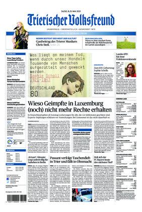 Trierischer Volksfreund - Zeitung für Bitburg-Prüm (08.05.2021)