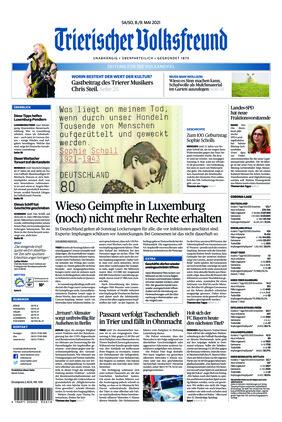 Trierischer Volksfreund - Zeitung für die Vulkaneifel (08.05.2021)