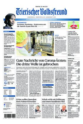 Trierischer Volksfreund - Zeitung für Konz, Saarburg und den Hochwald (10.05.2021)