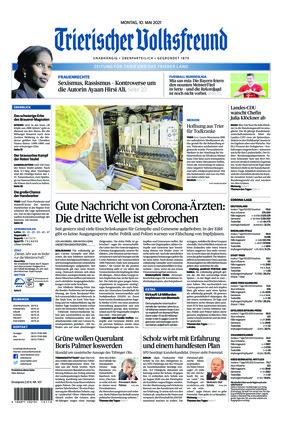 Trierischer Volksfreund - Zeitung für Trier und das Trierer Land (10.05.2021)