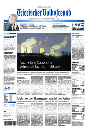 Trierischer Volksfreund - Zeitung für die Vulkaneifel (11.05.2021)