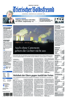 Trierischer Volksfreund - Zeitung für Konz, Saarburg und den Hochwald (11.05.2021)