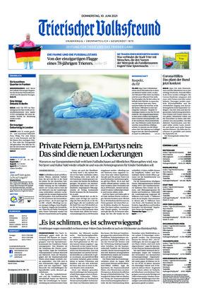 Trierischer Volksfreund - Zeitung für Trier und das Trierer Land (10.06.2021)