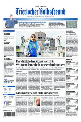 Trierischer Volksfreund - Zeitung für Bitburg-Prüm (11.06.2021)
