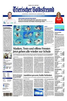 Trierischer Volksfreund - Zeitung für Trier und das Trierer Land (12.06.2021)