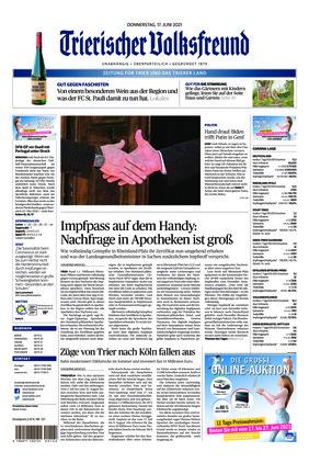 Trierischer Volksfreund - Zeitung für Trier und das Trierer Land (17.06.2021)