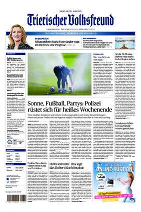 Trierischer Volksfreund - Zeitung für Konz, Saarburg und den Hochwald (19.06.2021)