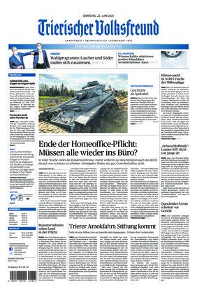 Trierischer Volksfreund - Zeitung für die Vulkaneifel (22.06.2021)