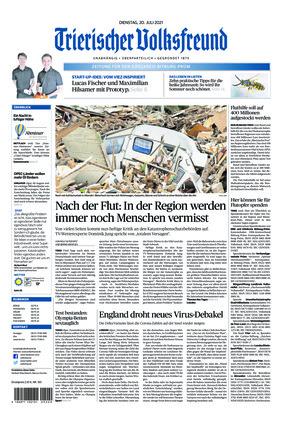 Trierischer Volksfreund - Zeitung für Bitburg-Prüm (20.07.2021)