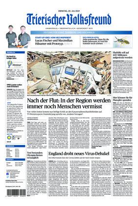 Trierischer Volksfreund - Zeitung für Konz, Saarburg und den Hochwald (20.07.2021)