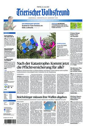 Trierischer Volksfreund - Zeitung für Konz, Saarburg und den Hochwald (23.07.2021)