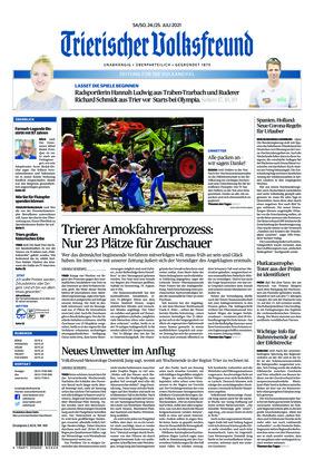 Trierischer Volksfreund - Zeitung für die Vulkaneifel (24.07.2021)