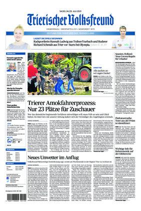 Trierischer Volksfreund - Zeitung für Trier und das Trierer Land (24.07.2021)