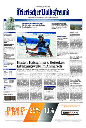 Trierischer Volksfreund - Zeitung für Konz, Saarburg und den Hochwald (28.07.2021)