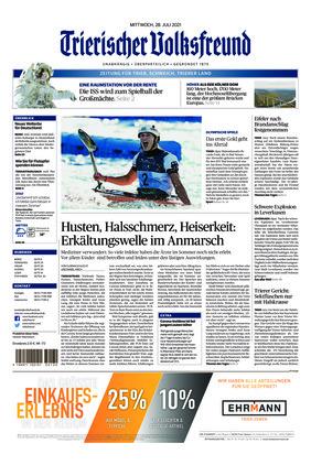 Trierischer Volksfreund - Zeitung für Trier und das Trierer Land (28.07.2021)
