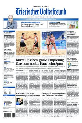Trierischer Volksfreund - Zeitung für Konz, Saarburg und den Hochwald (29.07.2021)