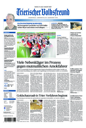Trierischer Volksfreund - Zeitung für die Vulkaneifel (31.07.2021)