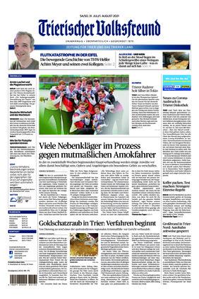 Trierischer Volksfreund - Zeitung für Trier und das Trierer Land (31.07.2021)