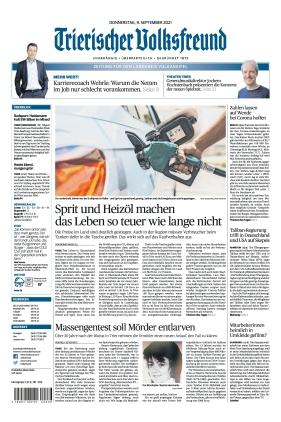 Trierischer Volksfreund - Zeitung für die Vulkaneifel (09.09.2021)